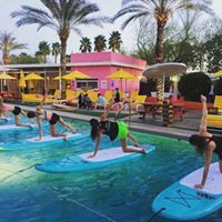 Sunset SUP Yoga at The Saguaro Hotel