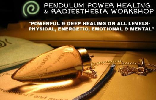 Pendulum Power Healing (Radiesthesia) & Dowsing Workshop at
