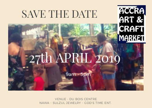 BAZAAR - Accra Art & Craft Market at W E B Dubois Centre