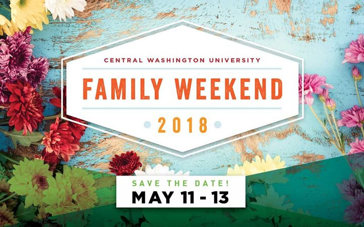 CWU Family Weekend 2018 at CWU Campus Activities, Ellensburg