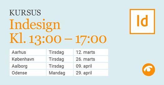 InDesign-kursus i Aalborg
