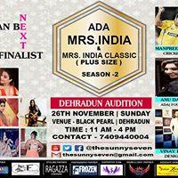 ADA Mrs. India &amp Mrs. India Classic ( Plus Size)  Season 2