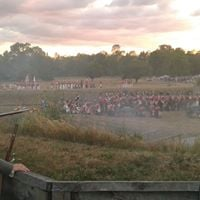 Siege of Fort Erie Re-enactment