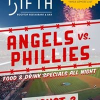 Angels vs. Phillies Game at The FIFTH