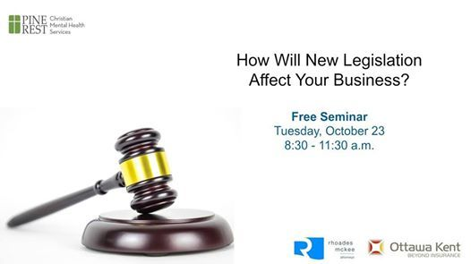 How Will New Legislation Affect Your Business