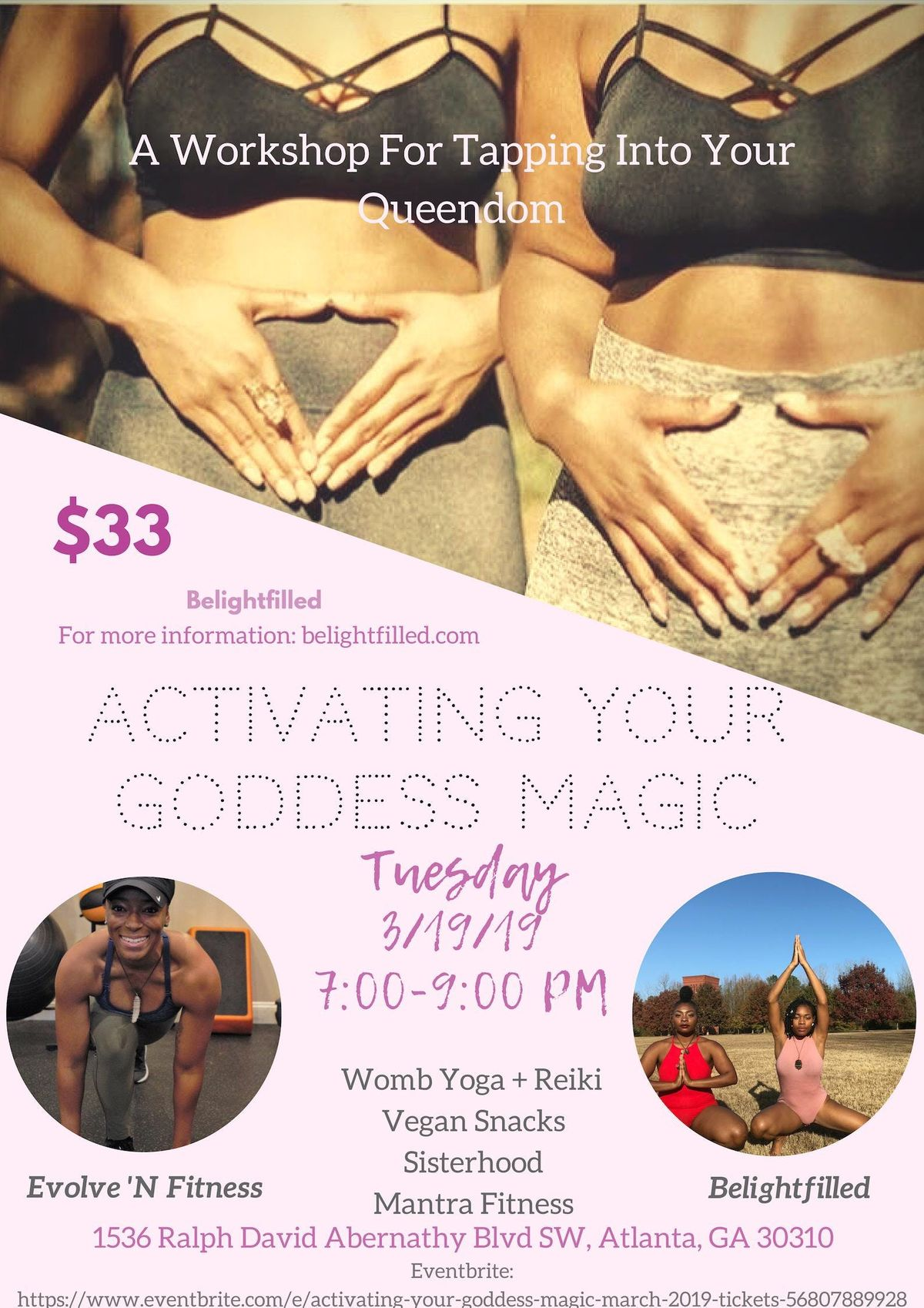 Activating Your Goddess Magic  March 2019