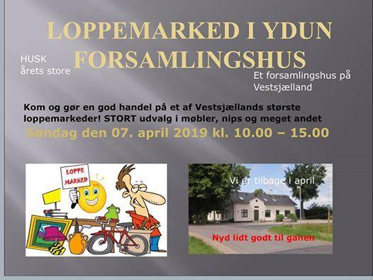 Stort Loppemarked I Ydun At Ydun Forsamlingshus Slagelse