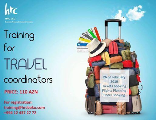 Training for Travel Coordinators