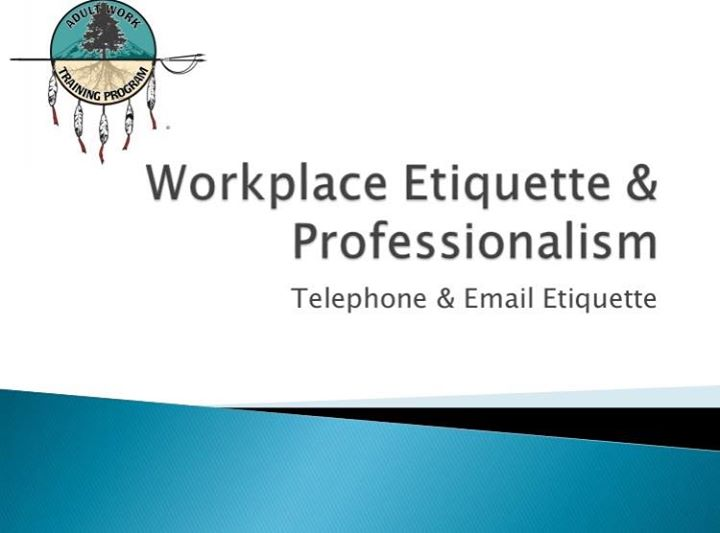 workplace etiquette training