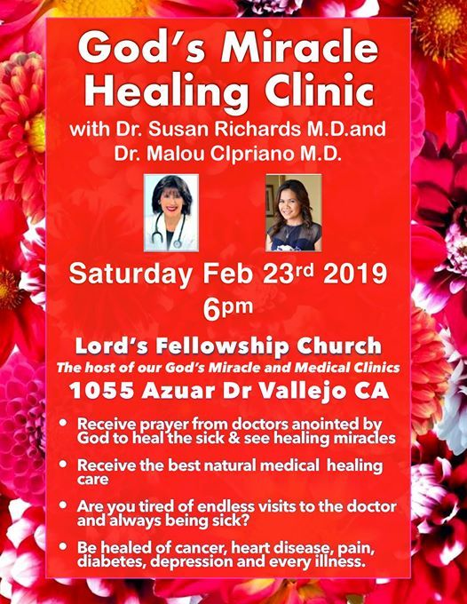 God's Miracle Healing Clinic | Vallejo