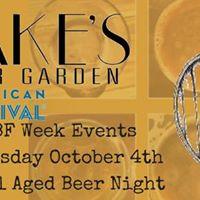 GABF Week Barrel Aged Beer Night