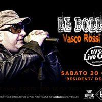 LE BOLLICINEVASCO ROSSI TributeOFFICIAL TOUR 2018