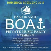BrainSail  BOAT PARTY  Veliero Edition 2017