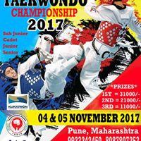 13th National Taekwondo Championship 2017 in Pune Maharashtra