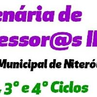 I Plenria de Professors II da Rede Municipal de Niteri