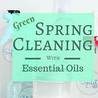 Spring Cleaning Naturally with Essential Oils