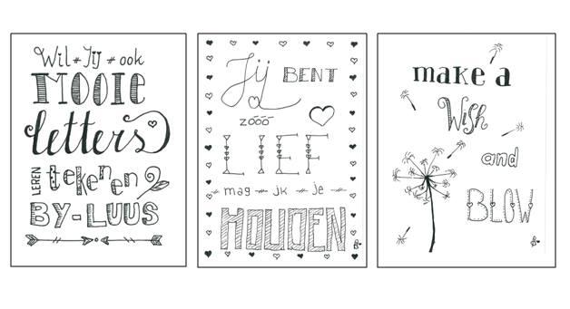 Workshop Handletteren Mooie Letters Leren Schrijven At