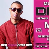 FIRST DEJA VU LAST TERM WITH Mostack live PA Monday 1st MAY