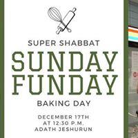 Sunday Funday Baking day