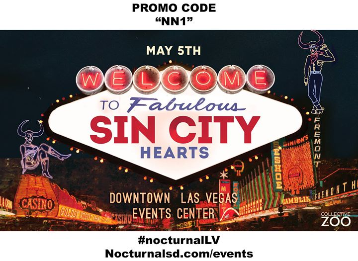 sin city hearts 2018 las vegas promotional code nn1 at. Black Bedroom Furniture Sets. Home Design Ideas