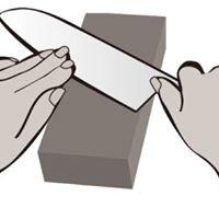 Taller de afilado de cuchillos a mano alzada