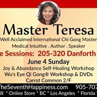 Chi Gong Day (3 workshops)