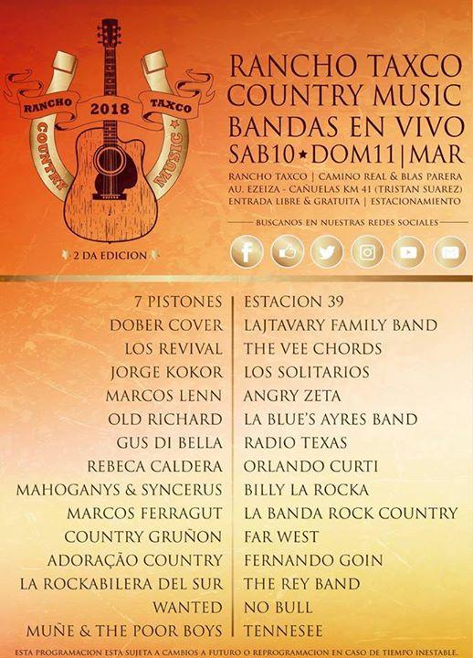 The Vee Chords En Rancho Taxco Country Music Festival Ezeiza