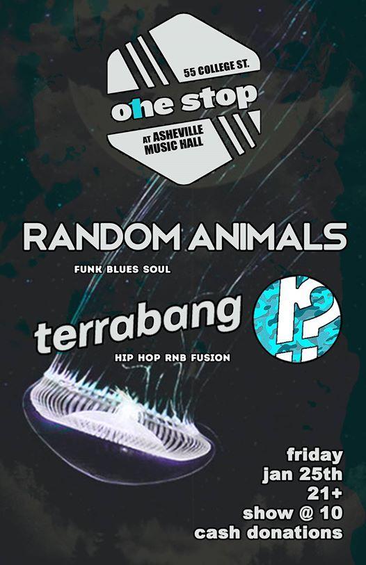 TerraBANG w Randomanimals at The One Stop