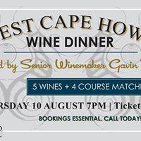 West Cape Howe Wine Dinner