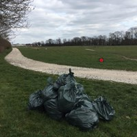 Stafford Common Litter pick (&amp isobel trail path along the side