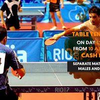 Table Tennis BEC Olympiad 18
