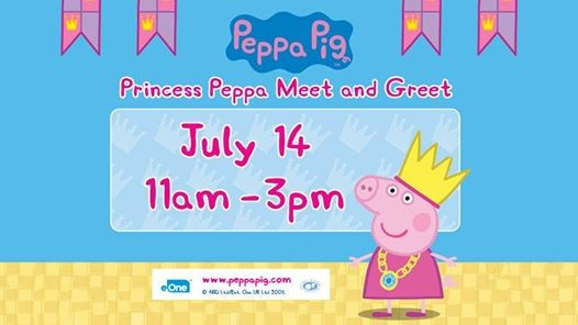 Princess Peppa Meet and Greet