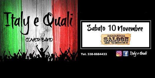 Italy e Quali Live - Saloon di Ghedi