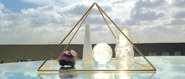 Pyramid Healing Afternoon at Angel Attic - Monday 15th October