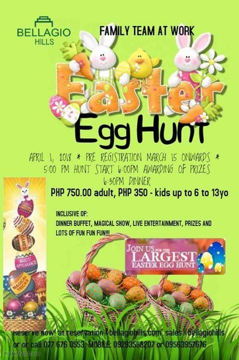 Bellagio Hills Easter Egg Hunt At Barangay Nagbacalan Paoay Ilocos