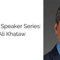 Speaker Series Ali Khataw Presented by Texas MBA &amp MSTC