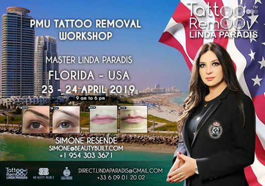 Tattoo Removal Workshop 2-Day by Linda Paradis at Beauty