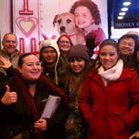 Christmas Caroling Down Broadway Tour (Times Square)