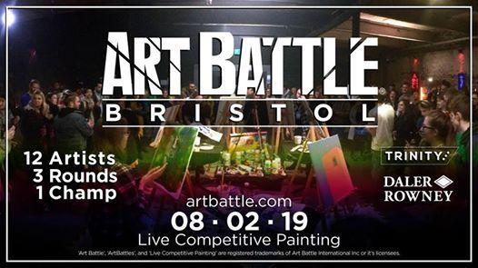 Art Battle Bristol - 8 February 2019
