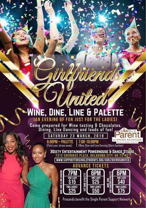 Girlfriends United Wine Dine Line & Palette