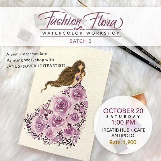 Fashion Flora Workshop Batch 2