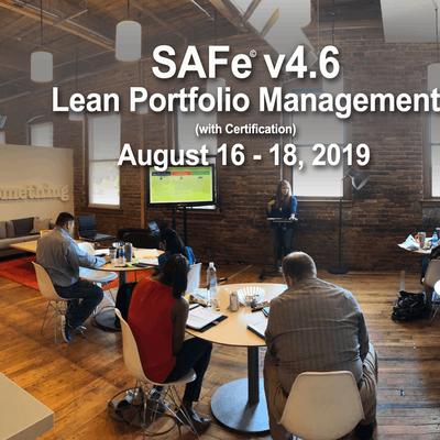 SAFe 4.6 Lean Portfolio Management with Certification