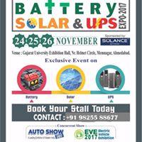 Battery Solar &amp Ups Expo - 2017 (Auto Show)