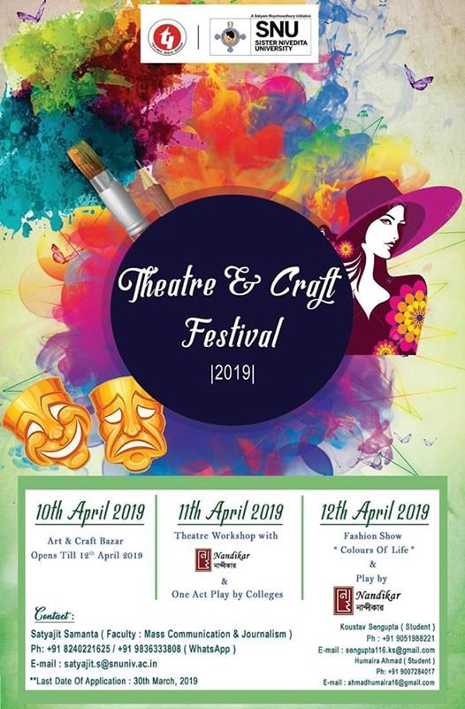Theatre and Craft Festival 2019