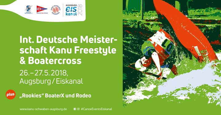 Int. Deutsche Meisterschaft Kanu Freestyle & Boatercross