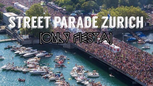 Calendar Zurich : Street parade zurich only fiesta at zürich city
