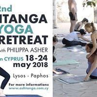 2nd Ashtanga Yoga Retreat with Philippa Asher in Cyprus