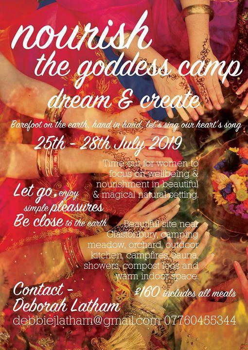 Nourish The Goddess Camp Dream & Create