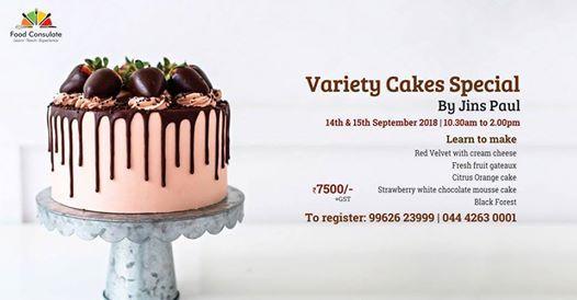 Variety Cakes