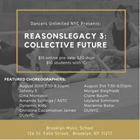 ReasonsLegacy 3 August 30th and 31st